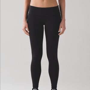 Lululemon low rise wunder under